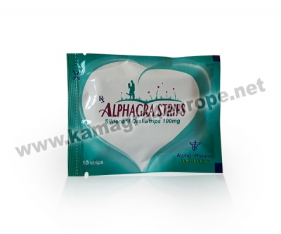 Alphagra Strips 100mg